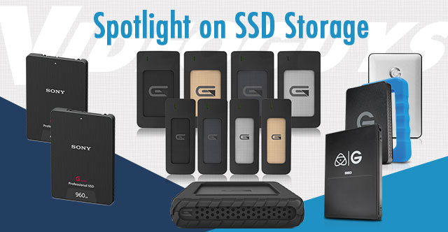 Videoguys Spotlight on SSD Storage Solutions