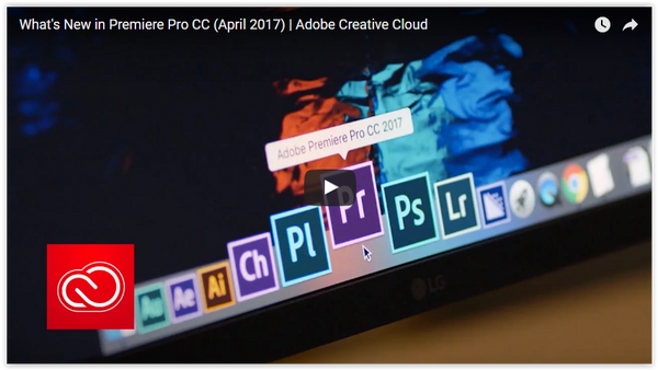 Adobe Premiere Pro CC 2017 release comes with a host of exciting new features