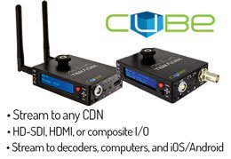 Teradek Cube Encoders Get Upgraded with both HD and 4K HEVC (H.265)