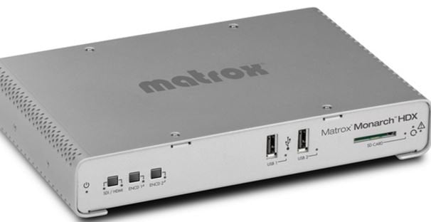 Presenting the Matrox Monarch Family of Streaming & Recording Appliances