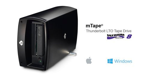 mLogic mTape and mRack Archiving Solutions Now Available with LTO-8 Technology
