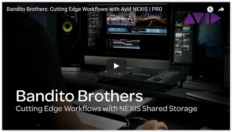 Avid NEXIS | PRO for Shared Storage Across Adobe and Avid