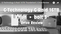 G-Tech G-Raid 16TB Thunderbolt 3 Review