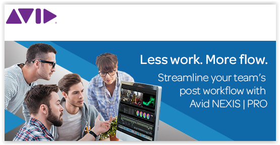 Streamline your team's post workflow with Avid Nexis Pro