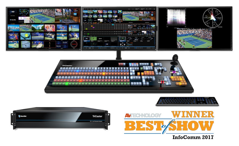 NewTek TriCaster TC1 is Best of Show at InfoComm 2017