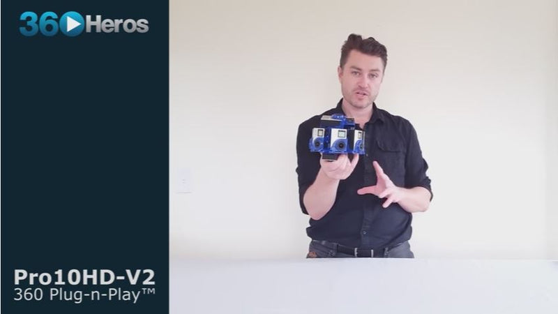 Overview of Virtual Reality 360 Video Gear: 360Heros Pro10 V2