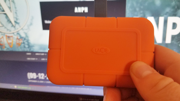 LaCie Rugged SSD is what Every Freelancer Needs