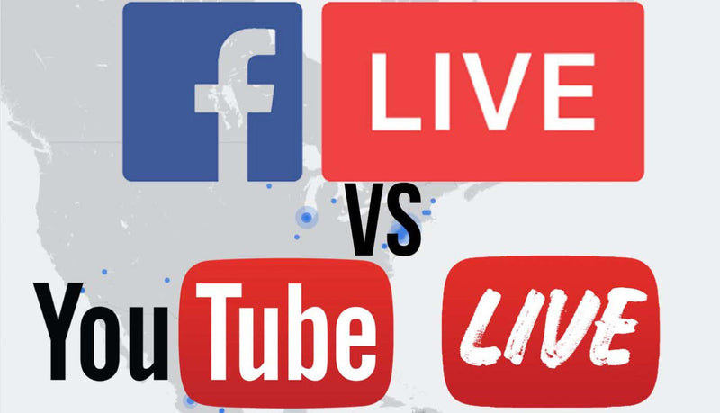 Facebook vs YouTube Live Side by Side Comparison