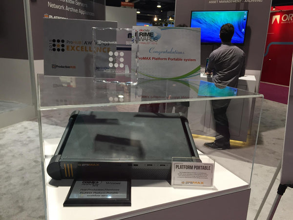 ProMAX's Platform Portable Workflow Server Wins Big at NAB!