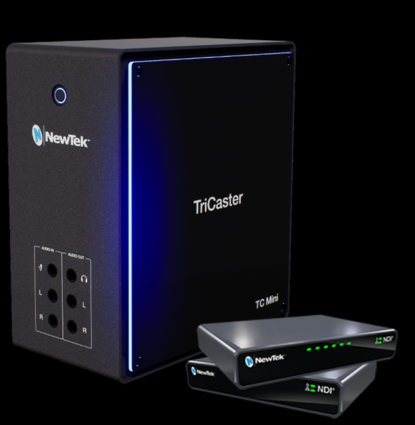 NewTek Introduces 4K TriCaster Mini all NDI Solution for Under $10K