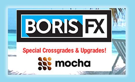 Boris FX Crossgrade Deals for Red and BCC Editors!