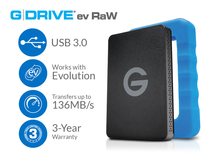 G-Technology's Favorite Portable Hard Drive Now Available in 2TB Capacity!