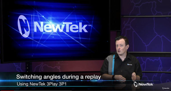Newtek 3Play 3P1 tip: Switching Angles During Instant Replay