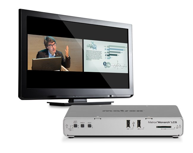 Matrox Monarch Streaming Technology Integrated into Learning Valley Presentations 2Go Lecture Capture and Software