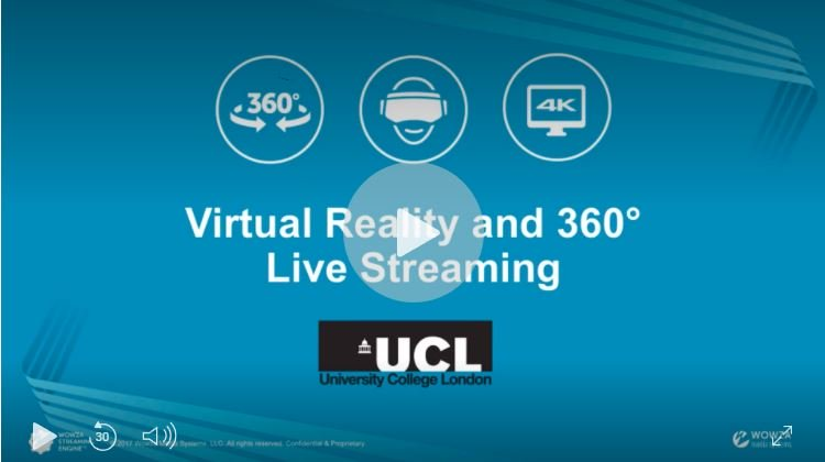 Wowza Tutorial: Stream 4K 360° to Facebook Live