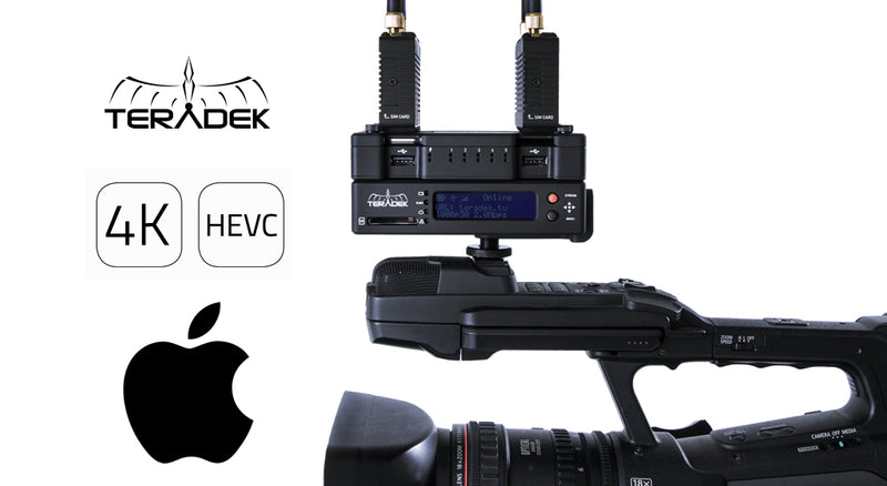 Apple and Teradek Announce H.265 Support
