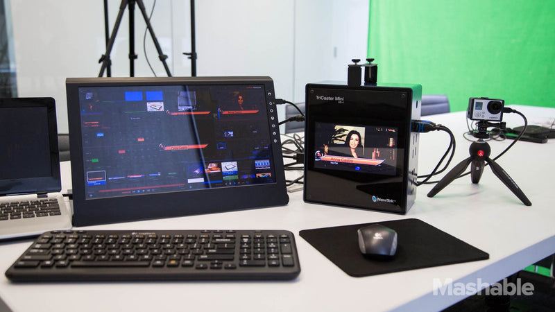 TriCaster Mini: Carry-On Production TV Studio
