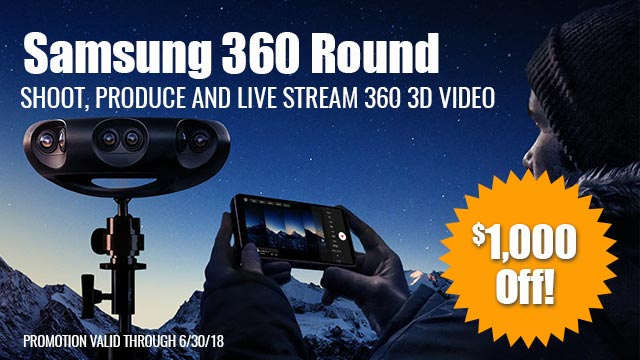 A Thousand Reasons to Buy Samsung 360 Round VR Camera