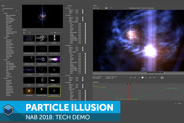 Boris FX Particle Illusion at NAB 2018