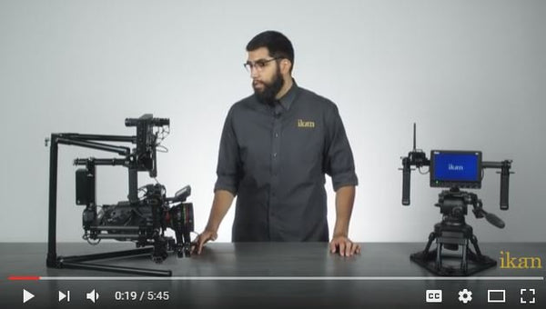 Take a look at iKan Gravity 3-Axis Handheld Gimbal System