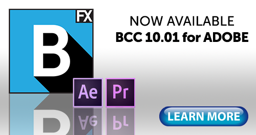 Free Update for Boris CC 10 for Adobe Users