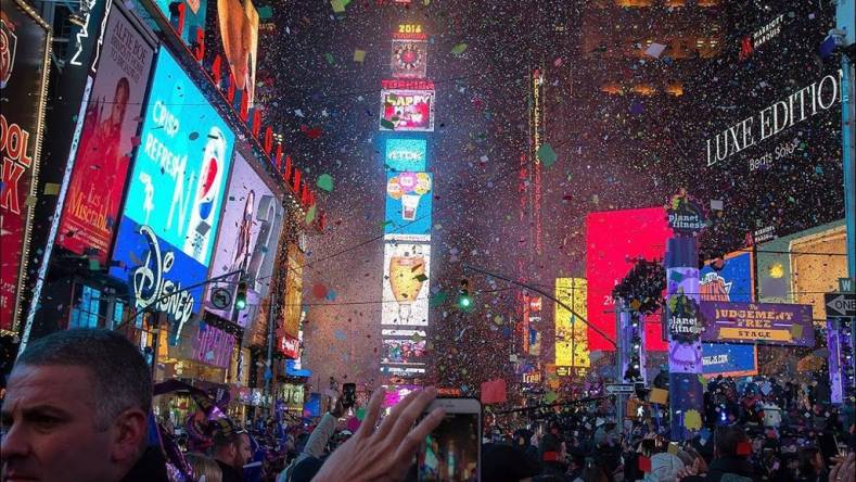 Teradek Encoding Live Streamed Time Square New Year Eve