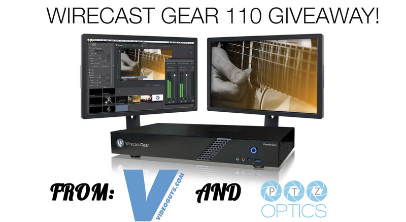 Wirecast Gear 110 Giveaway - Enter to Win One Today!