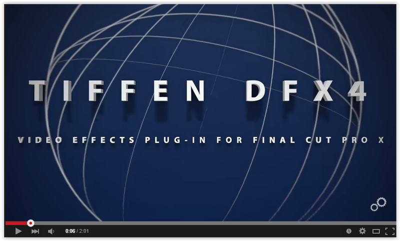 Tiffen Dfx v4 digital filter suite with video demo
