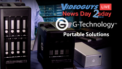 G-Technology Storage Solutions | Videoguys News Day 2sDay (11-19-19)