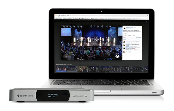 Bridgeway Church uses Epiphan Webcaster X1 to Stream Live to Facebook