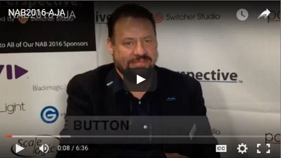 Video AJA at NAB Introducing New Products