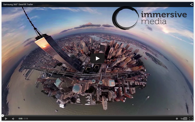 Immersive Media delivers spectacular 4K 360 degree Virtual Reality video