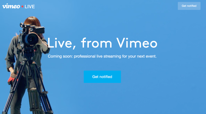 Vimeo Buys Livestream & Launches Live Video Streaming
