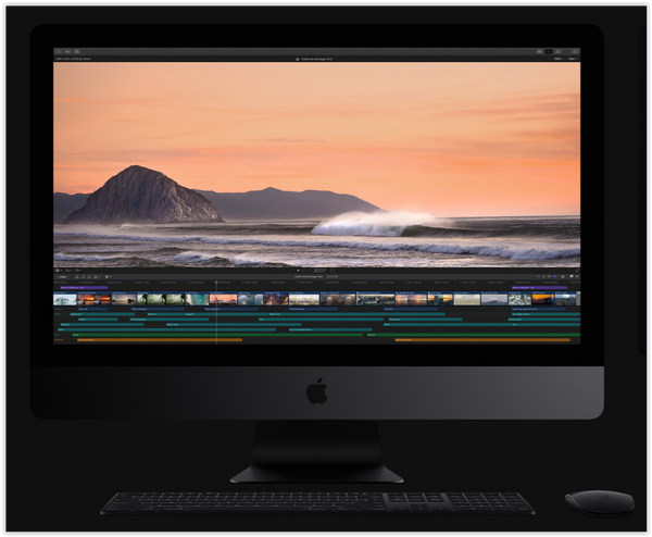 Apple Final Cut Pro 10.4 and iMac Pro released! A winning combination!!