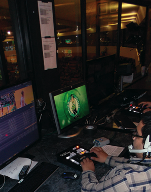 TD Garden Delivers More Action for Less Money with NewTek Solutions