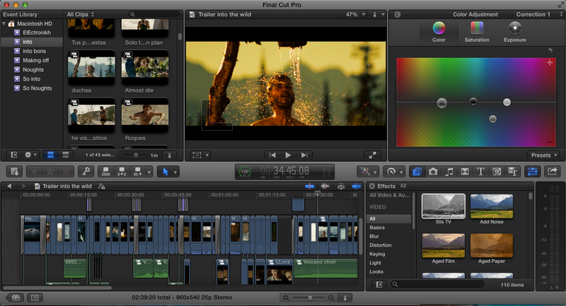 Final Cut Pro X in Action at University of Michigan