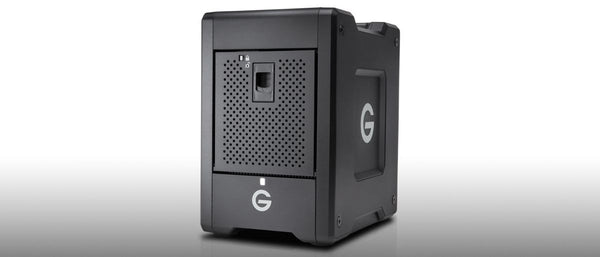 G-Tech G-Speed Shuttle 4Bay - the ultimate external storage for Photo & video