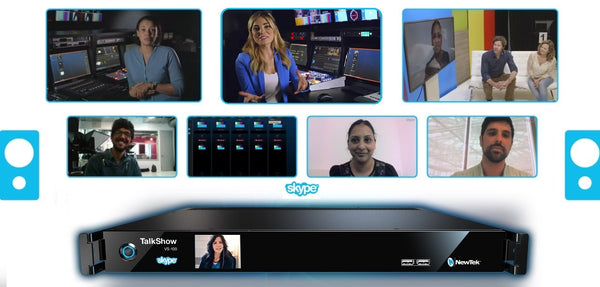 It's So Easy to Add Remote Guests to Your Live Broadcasts with Skype and Newtek Talkshow