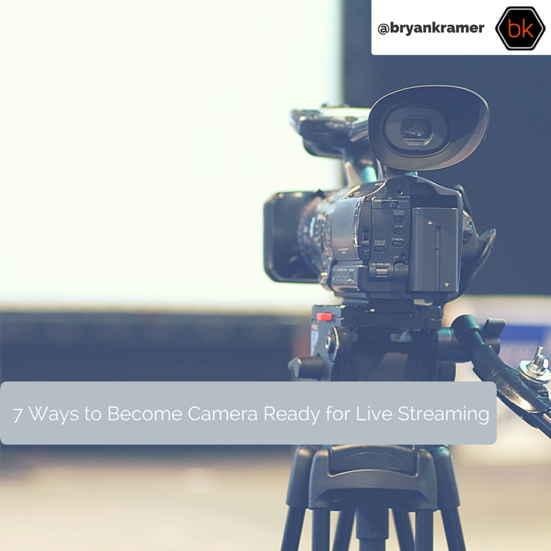 7 Ideas to be Camera Ready For Live Streaming
