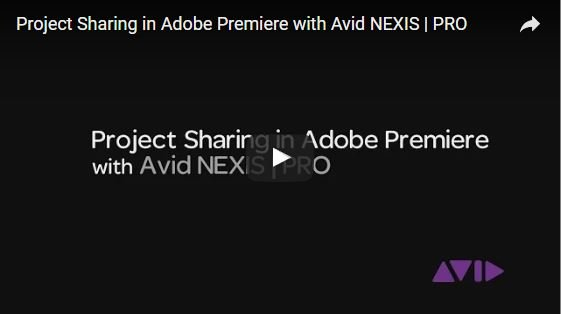 Avid NEXIS | PRO Collaborative Workflow Part 1: Adobe Premiere Pro