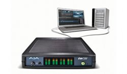 AJA Debuts Io XT Delivering Thunderbolt(TM) Technology for Professional Video I/O