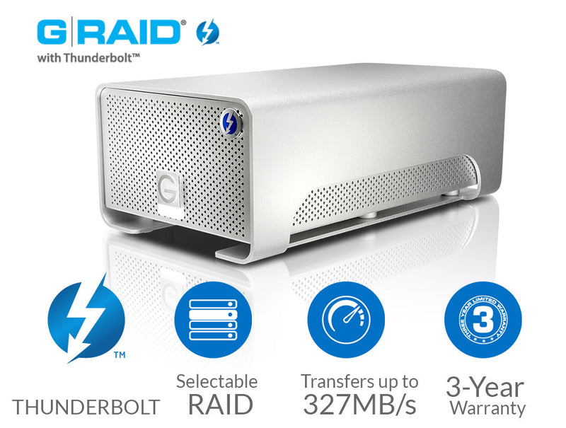 G-Technology G-RAID Thunderbolt 2 Device Review