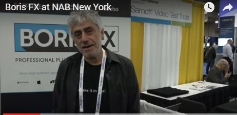 Boris FX at NAB New York Javits Center