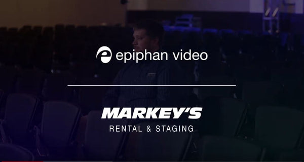 Markey's Rental and Staging Relies on Epiphan Pearls for Live Events