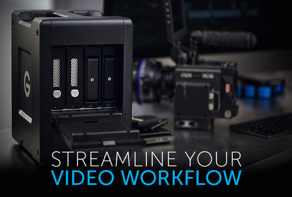 Streamline Your Video Workflow with G-SPEED Shuttle