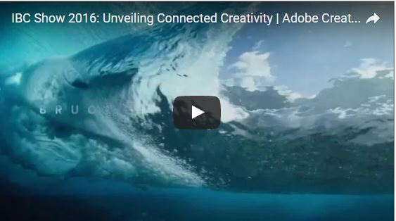 Adobe is Showing What's Next in Creative Cloud at IBC 2016
