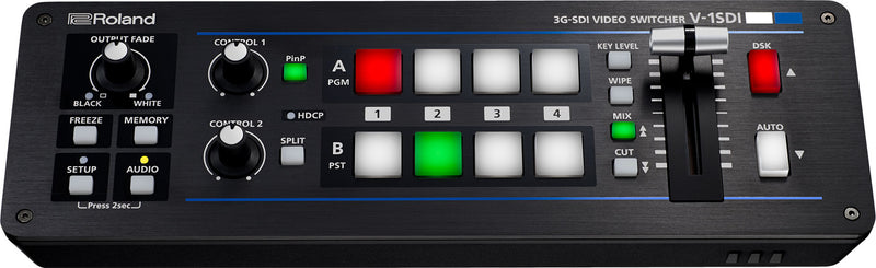 Introducing the Roland V-1SDI Compact, Portable Switcher