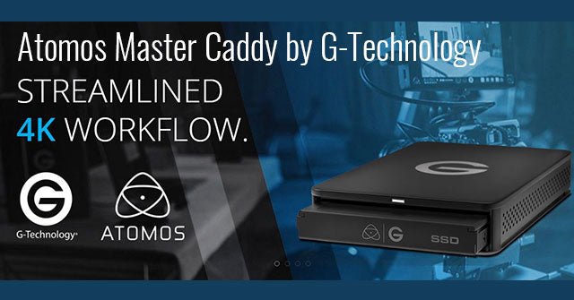 Atomos Master Caddy by G-Technology