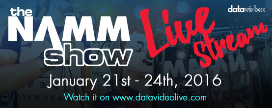 Live Stream the 2016 Namm Show