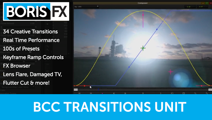 Subscribe Now to Avid Media Composer and Get Boris Continuum Transition Unit for Free